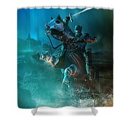 For King And Country Shower Curtain