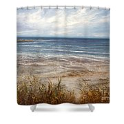 For Love Of The Sea Shower Curtain