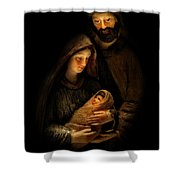 For Our Salvation Shower Curtain