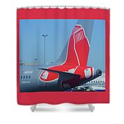 For Red Soxs Fans Shower Curtain