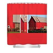 For Sandy Office Framed 4288 Shower Curtain