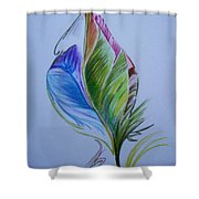 For Starters Shower Curtain