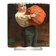 For Thanksgiving Day Shower Curtain