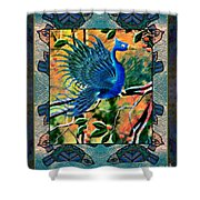 For The Birds Shower Curtain