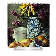 For The Day Book Shower Curtain