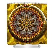 For The Love Of  Art In Fantasy Style Shower Curtain
