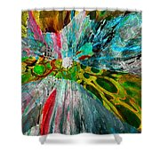 For The Love Of Circles Shower Curtain