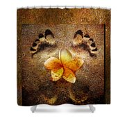 For The Love Of Me Shower Curtain by Jacky Gerritsen