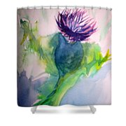 For The Love Of Purple Shower Curtain