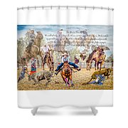 For The Love Of Rodeo II Shower Curtain