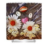 For The Love Of Summer And Life Shower Curtain