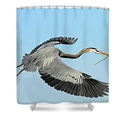 For The Nest Shower Curtain
