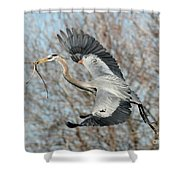 For The Nest Too Shower Curtain