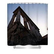 For The Roman Gods Shower Curtain