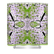 Foral Mural Shower Curtain
