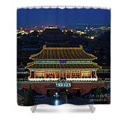 Forbidden City By Night Shower Curtain