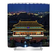 Forbidden City By Night Shower Curtain