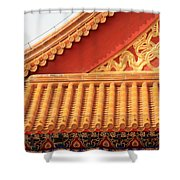 Rooftop Splendor Shower Curtain