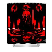 Forbidden City Waltz Shower Curtain