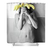 Forbidden Fruit Shower Curtain