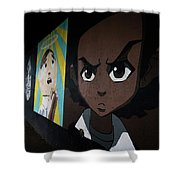 Force Shower Curtain