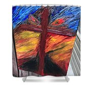 Force Of God Shower Curtain