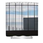 Force Of Man Shower Curtain