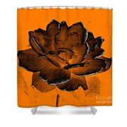 Forced Into Shape Shower Curtain