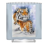 Forceful Shower Curtain
