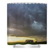 Forces Of Nebraska Nature 032 Shower Curtain