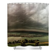 Forces Of Nebraska Nature 040 Shower Curtain