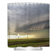 Forces Of Nebraska Nature 043 Shower Curtain