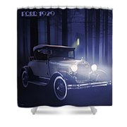 Ford 1929 Shower Curtain