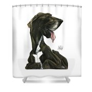 Ford 3235 Beaux Shower Curtain