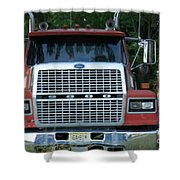 Ford 9000 Power And Confort... Shower Curtain
