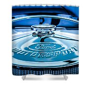 Ford Air Filter Lid Shower Curtain