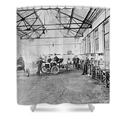 Ford Auto Factory Shower Curtain