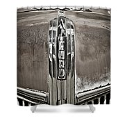 Ford Chrome Grille Shower Curtain