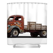 Ford Classic 7 Up Truck Shower Curtain