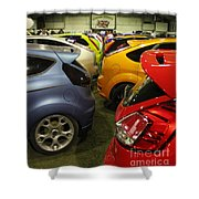 Ford Colours Shower Curtain