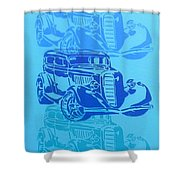 Ford Coupe 34 Shower Curtain