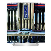 Ford Deluxe Grille Shower Curtain