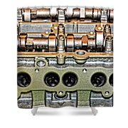 Ford Ecoboost Cylinder Head Shower Curtain