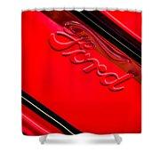 Ford Emblem -0841c Shower Curtain