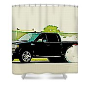 Ford F-150 Shower Curtain