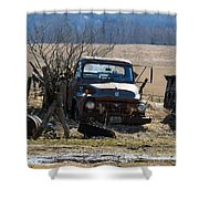 Ford F-600 Shower Curtain