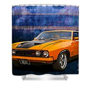 Ford Falcon Xb 351 Gt Coupe Shower Curtain