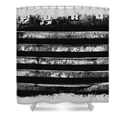 Ford Grill Shower Curtain by Barry C Donovan