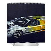 Ford Gt Concept Shower Curtain