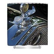 Ford Hood Emblem Shower Curtain
